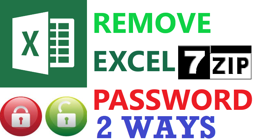 Unprotect Excel | Remove Password From Excel File | 2 Methods